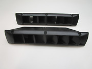 1980and039s Thompson Cutlass 170 Boat Black Plastic Louvered Blower Vent Cover