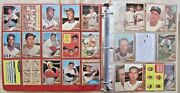 1962 Topps Baseball Near Complete Set 499/598 Mantle + Tons Stars + His Exmt