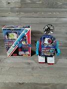Lambda-iii Vintage Space Toy Robot W/rotating Search-light And Radar W/box As Is