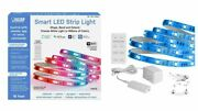 Feit Electric Wi-fi Smart 16and039 Indoor Outdoor Flexible Led Strip Light W Remote