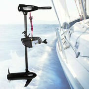 12v 1.2hp Electric Outboard Thrust Motor Fishing Boat Engine Manual Control 800w