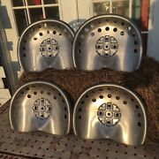 Lot Of 6 Polished Metal Tractor Seats Rustic Ranch Farm Wagon Stool Home Antique