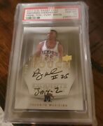 2011 Upper Deck Exquiste Collection Anfernee Hardaway Auto 23/30 Jay-z Psa 10