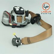 +a644 W221 Mercedes 07-9 S Class Front Right Passenger Seat Belt Assembly Brown