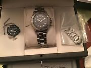Millennium 2000 Watch. Solid 18k Bezelauto.completewith Paperbox. 99