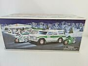 New In Box 2004 Hess Collectible Truck Sport Utility Vehicle And Motorcycles