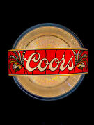 Vintage Coors Beer Lighted Sign 1981 Unique-19x19x8