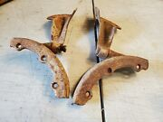 1955 1956 1957 Chevy Wagon Rear Lower Seat Hinges Pair