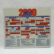 New York Mets Game Schedule Magnet Year 2000