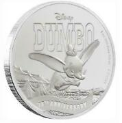 Highest Appraisal Sold Out Niue Dumbo 75th Anniversary Silver Coin Pf70 Er Box