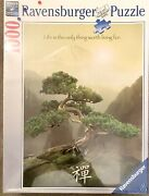 Ravensburger Puzzle Zen Tree 1000 Piece Life Is The Only Thing Worth To Live For