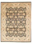 9'2 X 12'2 Hand-knotted Carpet Traditional Oriental Wool Area Rug