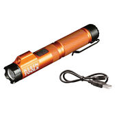 New Klein Tools 56040 Rechargeable Focus Flashlight With Laser 350 Lumens