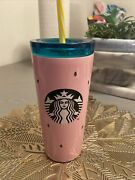 Starbucks Pink Watermelon Stainless Steel Cup