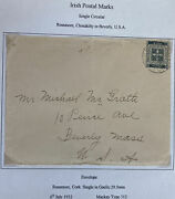 1932 Rossmore Ireland Cover To Beverly Ma Usa