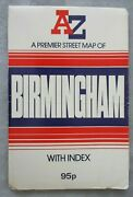 Geographers A-z Premier Street Map Of Birmingham Large Folding Map With Index