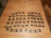 14- Pieces Of American Flyer S-scale Curve Track