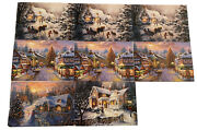 Vintage Lot Of 8 Ahaf Exclusive Collection Christmas Cards 2007