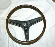 Original 1969 Ford Mustang Boss Shelby Mach 1 Rim Blow Steering Wheel Assembly