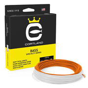 Cortland Bass Floating Fly Line - All Sizes - Free Ship