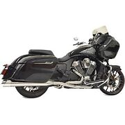 Bassani Chrome Road Rage 2-into-1 Exhaust For Indian Challenger 2020