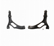 Set Of 2 Front Lower Control Arms With Bushings Left + Right For Vw Touareg
