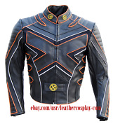 X-men The Last Stand Motorcycle Leather Jacket / X-men Wolverine Costume Jacket