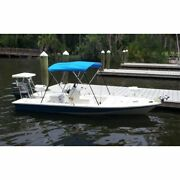 Carver A5487ub-4 54h Pacific Blue Boat Bimini Top - 85 To 90 New