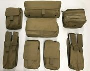 Molle Turret Gunner Pouch Lot Coyote Usmc