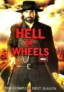 Hell On Wheels Season 1 Dvd 2012 3-disc Set With Slip-cover K12a