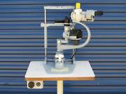 Carl Zeiss Microscope Germany Ophthalmology Optometry Corneal Actuator Cart