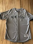 Authentic 2014 Derek Jeter - Ny Yankees Away Jersey - On Field - 48 - Nwt