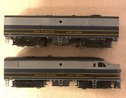 American Models S Scale 813 Baltimore And Ohio Fa-2/fb-2 Diesel Locomotives