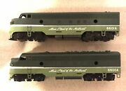 American Models S Scale 6600a And 6601a Northern Pacific Diesel Aa Locomotives