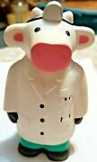 Ross University Stress Relief Squeeze Ball Doctor Cow Physician Stethoscope