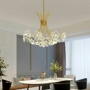 Crystal Chandelier Lighting Led Modern For Dining And Living Room Decorations