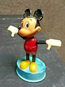 Vintage Push Up Toy Mickey Mouse Puppet Original Ussr Cccp Soviet Russia Large
