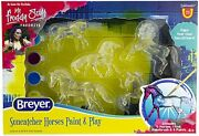 Breyer Horses Stablemates Series Suncatcher Paint And Play Set Horse 4237