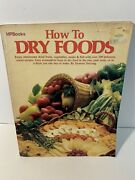 Hp Books Vintage Dry Foods - How To By Deanna Delong Acceptable 1979 8th Print