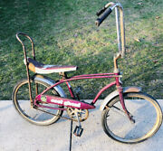 Vtg 1970s Huffy Cool Ghoul Muscle Banana Seat Bike Bicycle