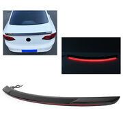Rear Tail Trunk Spoiler Wing Lip Streamer Rear Tail For 2012-2018 Mazda Axela