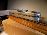 Broadway Ltd Ho Scale California Zephyr Vista Dome Lounge Obs New Unlettered