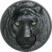 Palau Hunters By Night Panther 2020 2oz Silver Coin 10