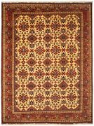 9and03911 X 13and0393 Vintage Hand-knotted Traditional Oriental Wool Area Rug