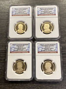 2013-s 1 Presidential Dollar Proof Set Ngc Pf69 Ultra Cameo 4 Coin Set