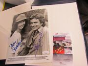 Mary Steenburgen Dudley Moore Signed Autographed Photo Jsa Certified