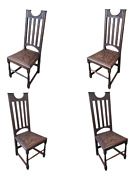 Antique Dutch Dining Chairs - Set Of 4