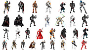 Star Wars Buildable Figures Black Series Collectible Action Figures Toy For Kids
