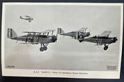 Mint England Valentines Picture Postcard Raf Wapiti Fighter Army Cooperation