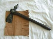 Very Rare Norlund Frontiersman Tomahawk Axe W/ Sheath 1 Of Only 1000